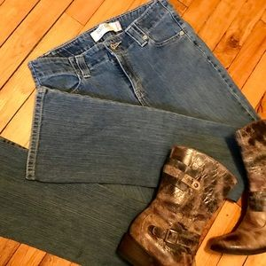 High Rise Boot Cut Levi Jeans